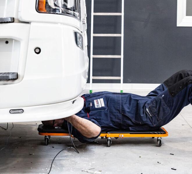 Officina Scania, manutenzioni straordinarie