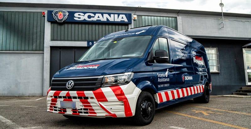 Scania Assistance: a vostra disposizione 24 ore su 24, 365 giorni all'anno