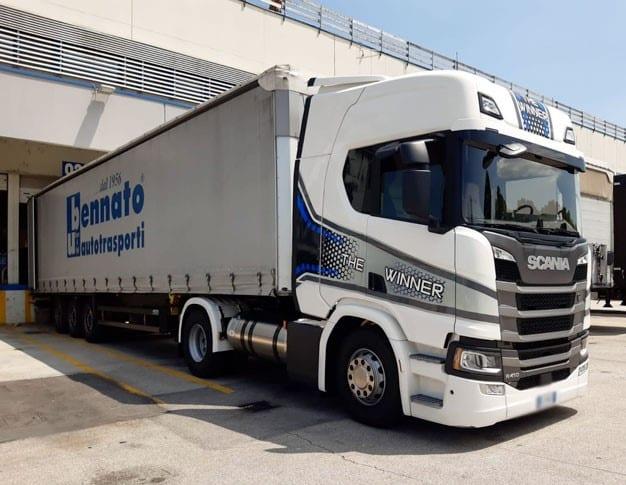 The Winner Scania - Scandipadova test drive