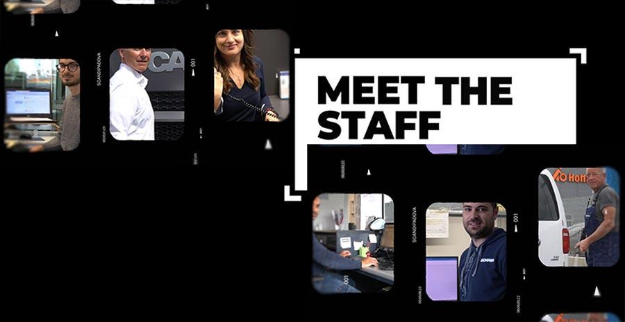 Meet The Staff: la serie di video che presenta il team di Scandipadova!