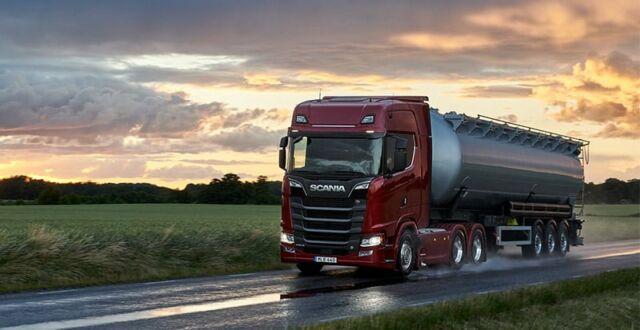 scandipadova e scania trasporto sostenibile